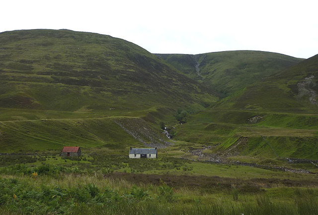 Brunachan and Allt Brunachain