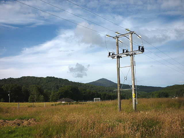 Electricity pylon, Invergarry