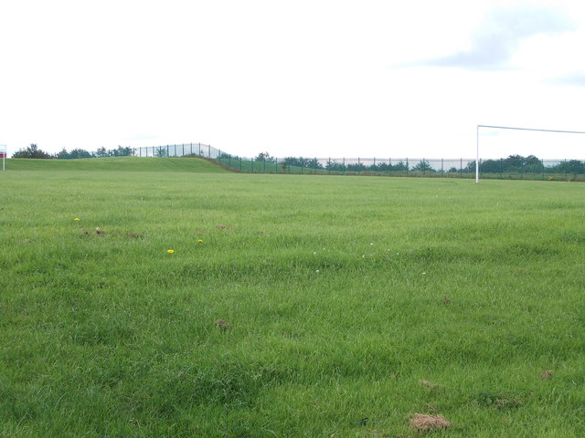 Playing Fields - viewed from The Balk
