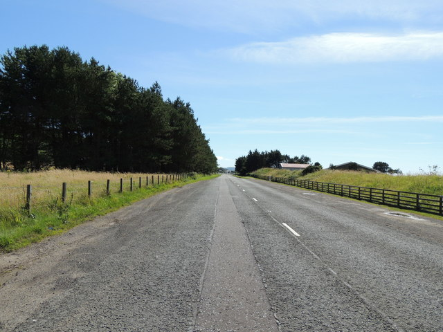 Road to Girvan near Turnberry