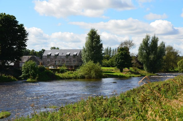 Heiton Mill by the River Teviot