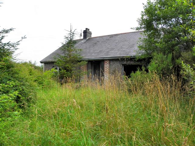 Abandoned house, Cormore