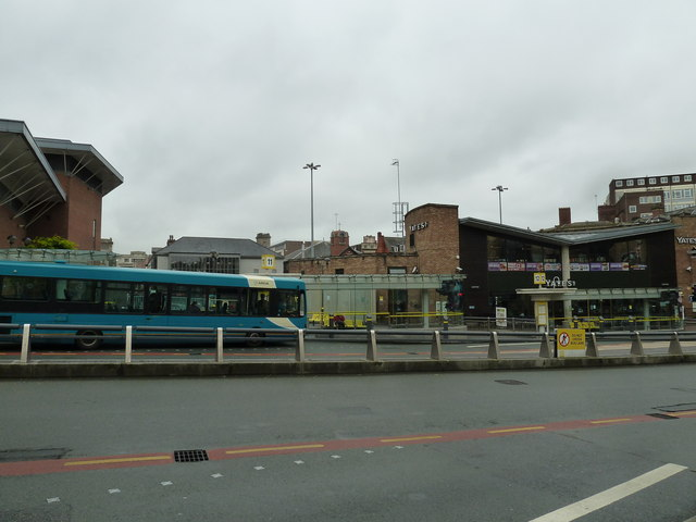 Early morning at Queen Square Bus Station (e)