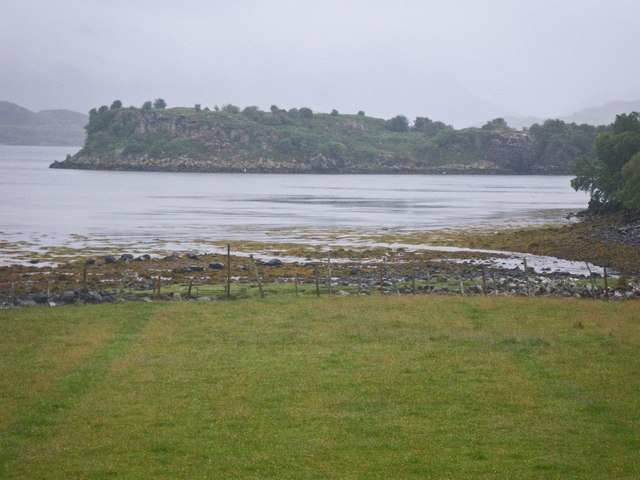 Intertidal shoreline of Loch Shieldaig