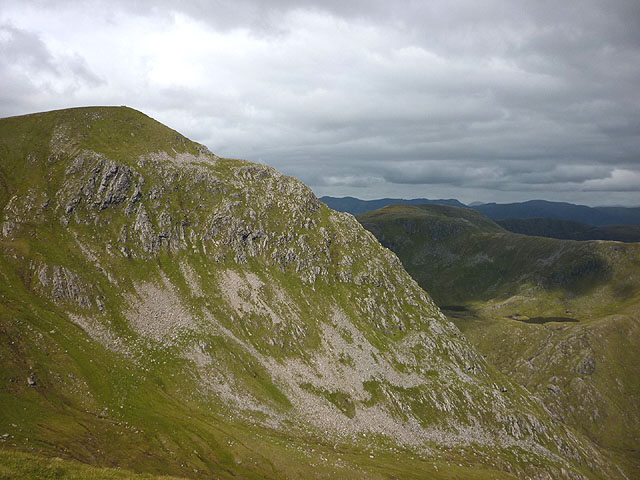 The east ridge of Sgurr nan Conbhairean