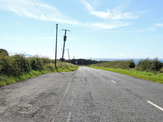 Road to Dunure near Fisherton