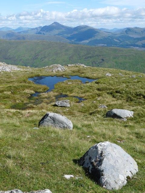 Ridge above Coire na Garbhlaich