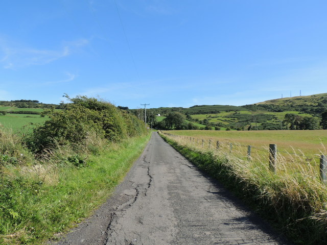Road near Carwinshoch