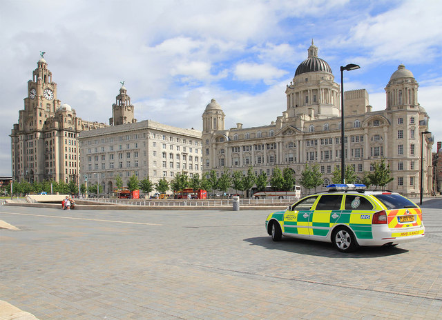 The Three Graces, Pier Head