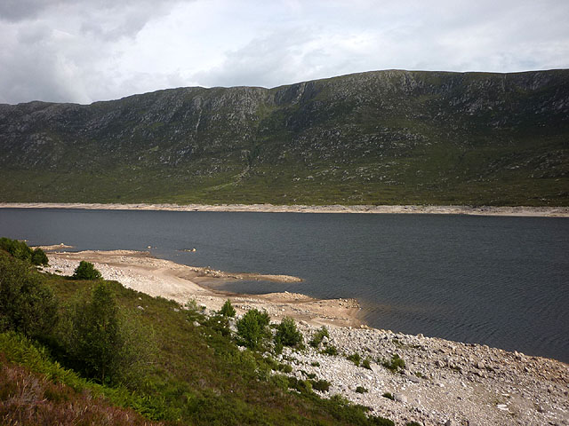 The north shore of Loch Cluanie