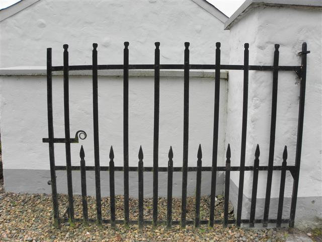 Metal gated, Cormore old forge
