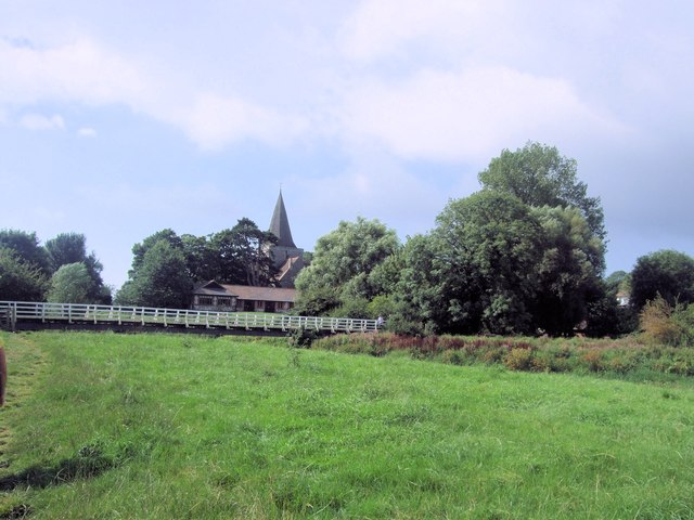 Alfriston from the East