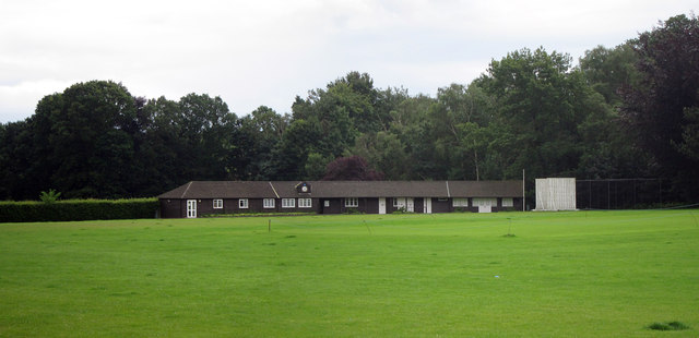 Cricket club buildings