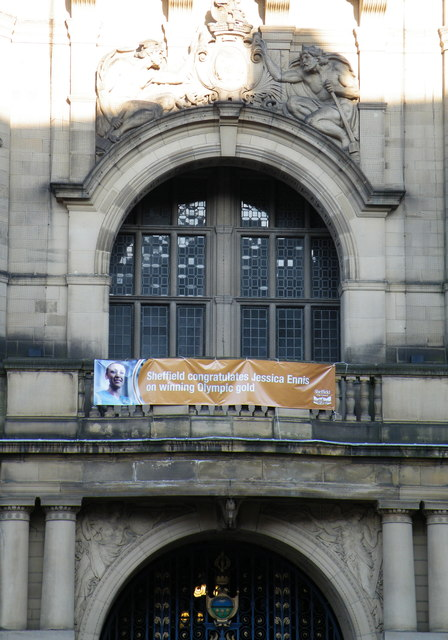 Sheffield Town Hall Poster, Pinstone Street, Sheffield