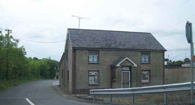 Cottage at the junction of the L8100 and the N2 in Tullyvaragh