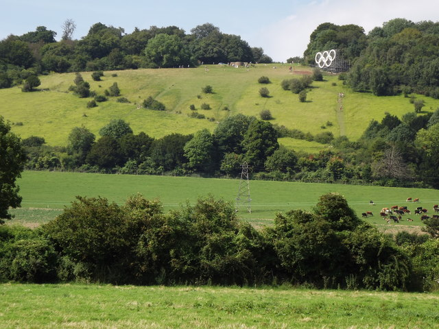 Boxhill from Lower Boxhill