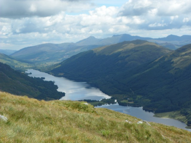 View east from Creag Artair