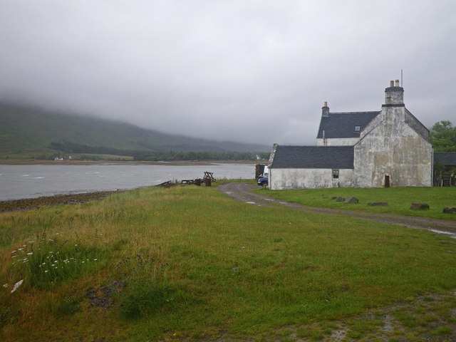 Scene by the River Applecross distributary