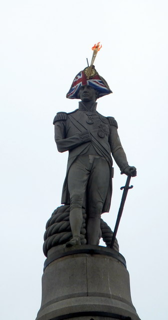 Nelson's Column with an Olympic makeover