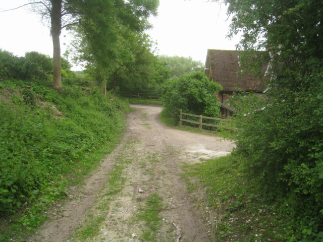 One end of the byway