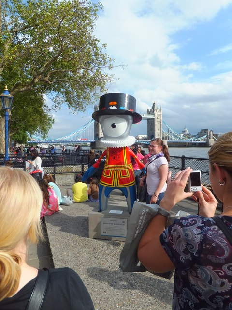 Beefeater Mandeville at Tower of London
