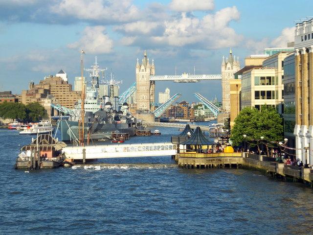 Tower Bridge Rising