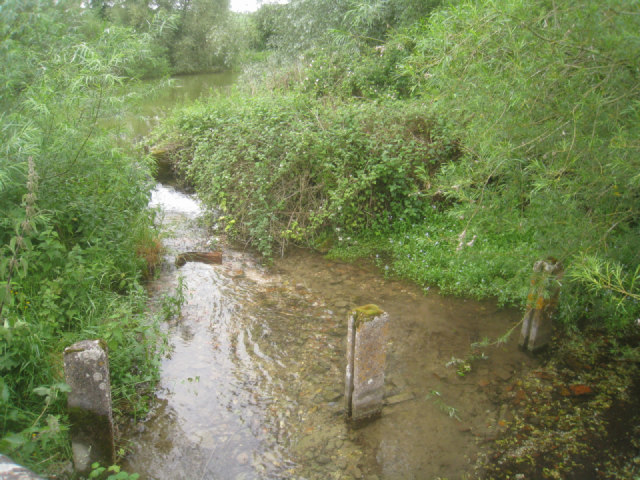 Remains of a sluice gate