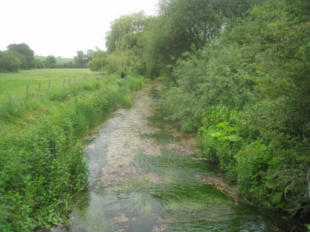 River Test - direction Overton