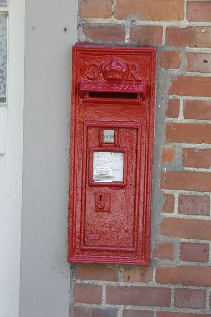 Post box at the PO