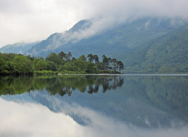 Reflection on Loch Eck