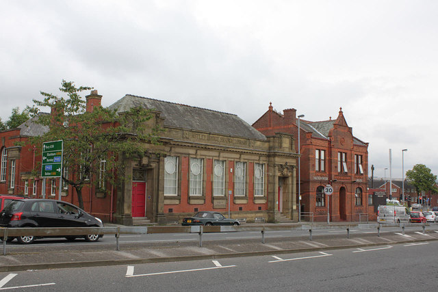 Astley Bridge Library and municipal offices