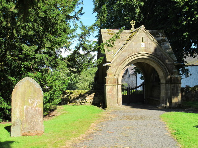 Lych Gate to St Mungo's Church, Simonburn