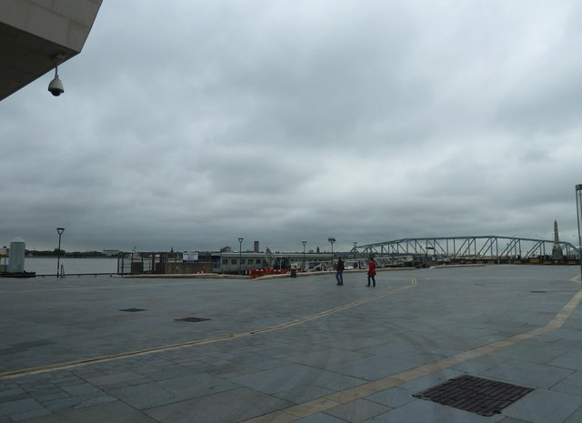 A damp summer day on Liverpool waterfront (b)