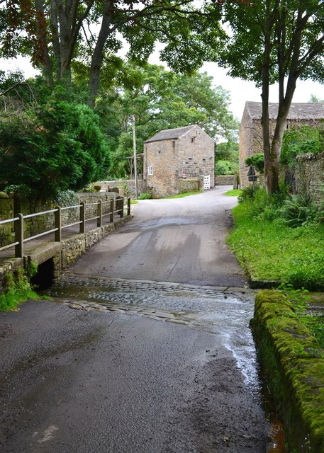 The ford - Townfield Lane, Shatton