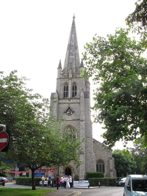 Tower of St John's church