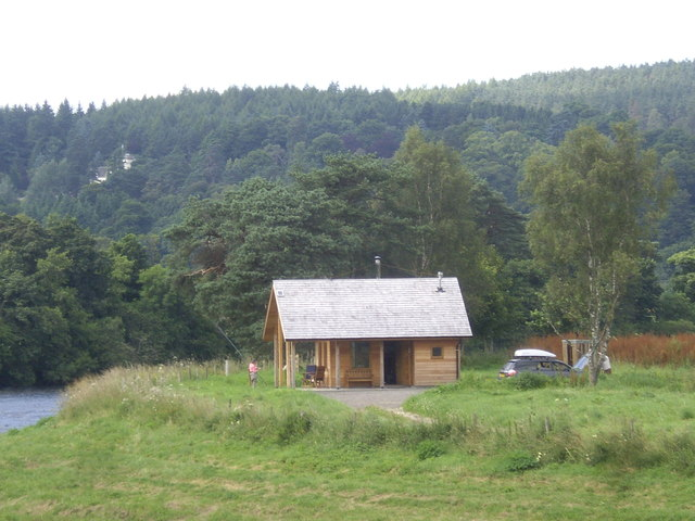 A new fishing bothy by the River Dee