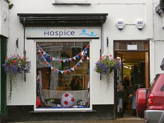 North Devon Hospice Charity Shop, 21a The Square, Holsworthy