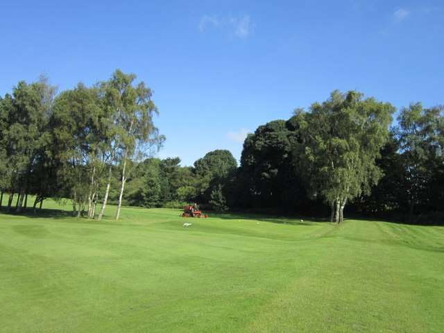 A footpath across Leeds Golf Club