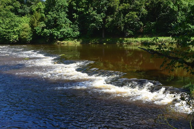 Weir for Sunlaws Mill