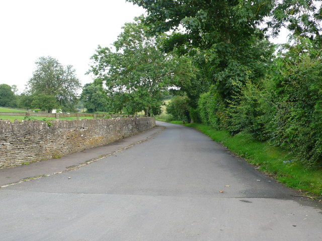 Minor Road to Westonbirt