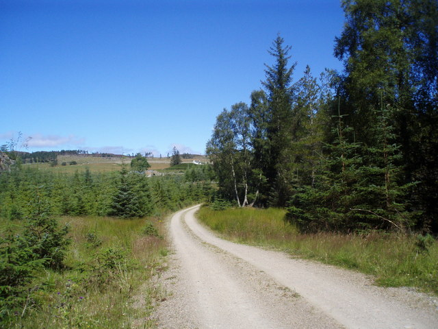 Track going to Balchraggan