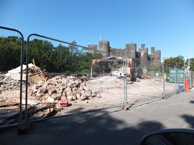 Demolition of Billingtons Garage