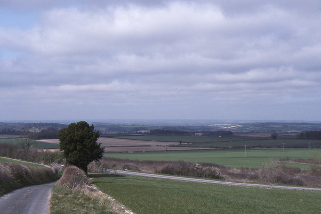 Looking down to the A30, Woolbury