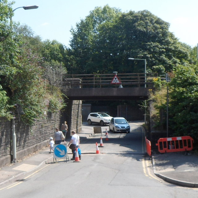 In Abercynon Rhondda Cynon Taf: Railway Bridge Over Ynysmeurig Road,... © Jaggery