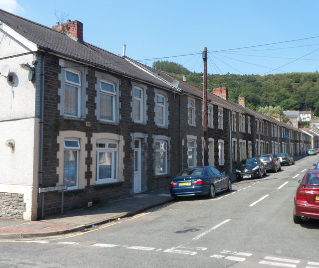 In Abercynon Rhondda Cynon Taf: Herbert Street, Abercynon © Jaggery Cc-by-sa/2.0