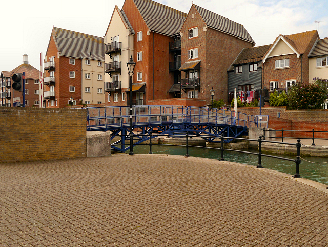 Footbridge, Sovereign Harbour Marina