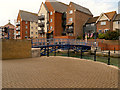 TQ6301 : Footbridge, Sovereign Harbour Marina by David Dixon