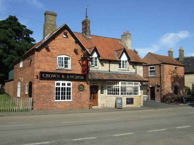 The Crown and Anchor, Welby