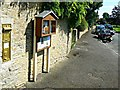 SP0801 : South past the village post box, Ampney St Peter, Gloucestershire by Brian Robert Marshall