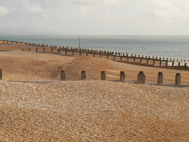 Groynes, Eastbourne Beach